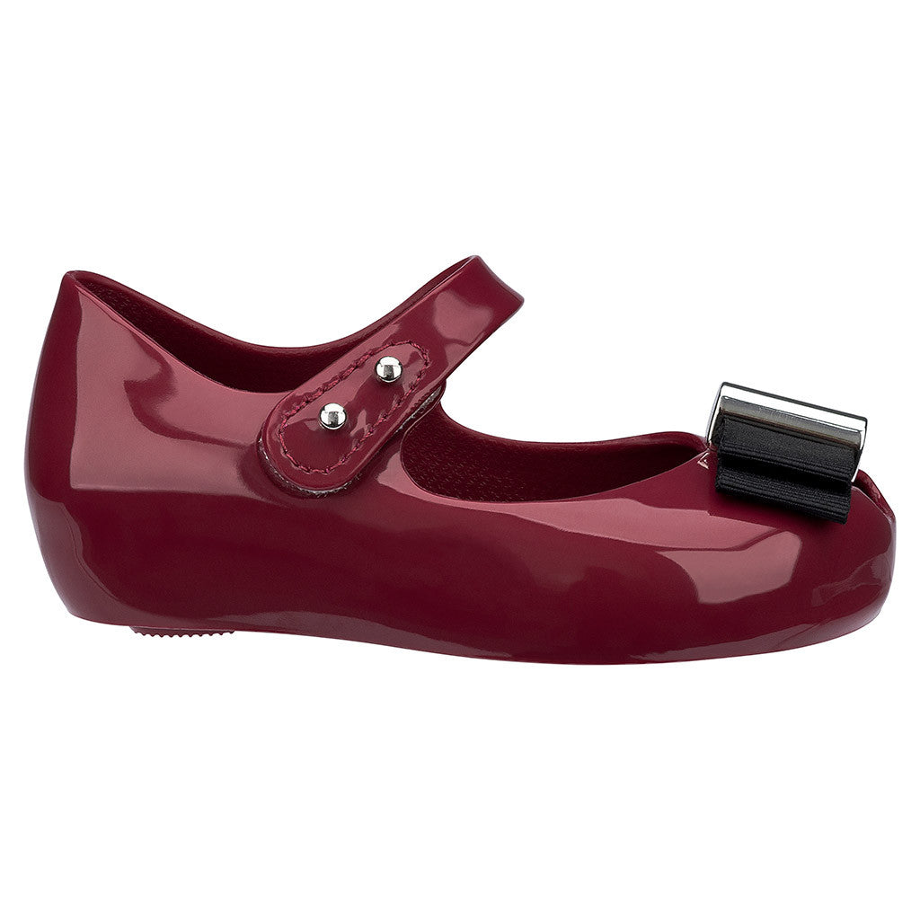 Mini Melissa Ultragirl + Jason Wu in Burgundy