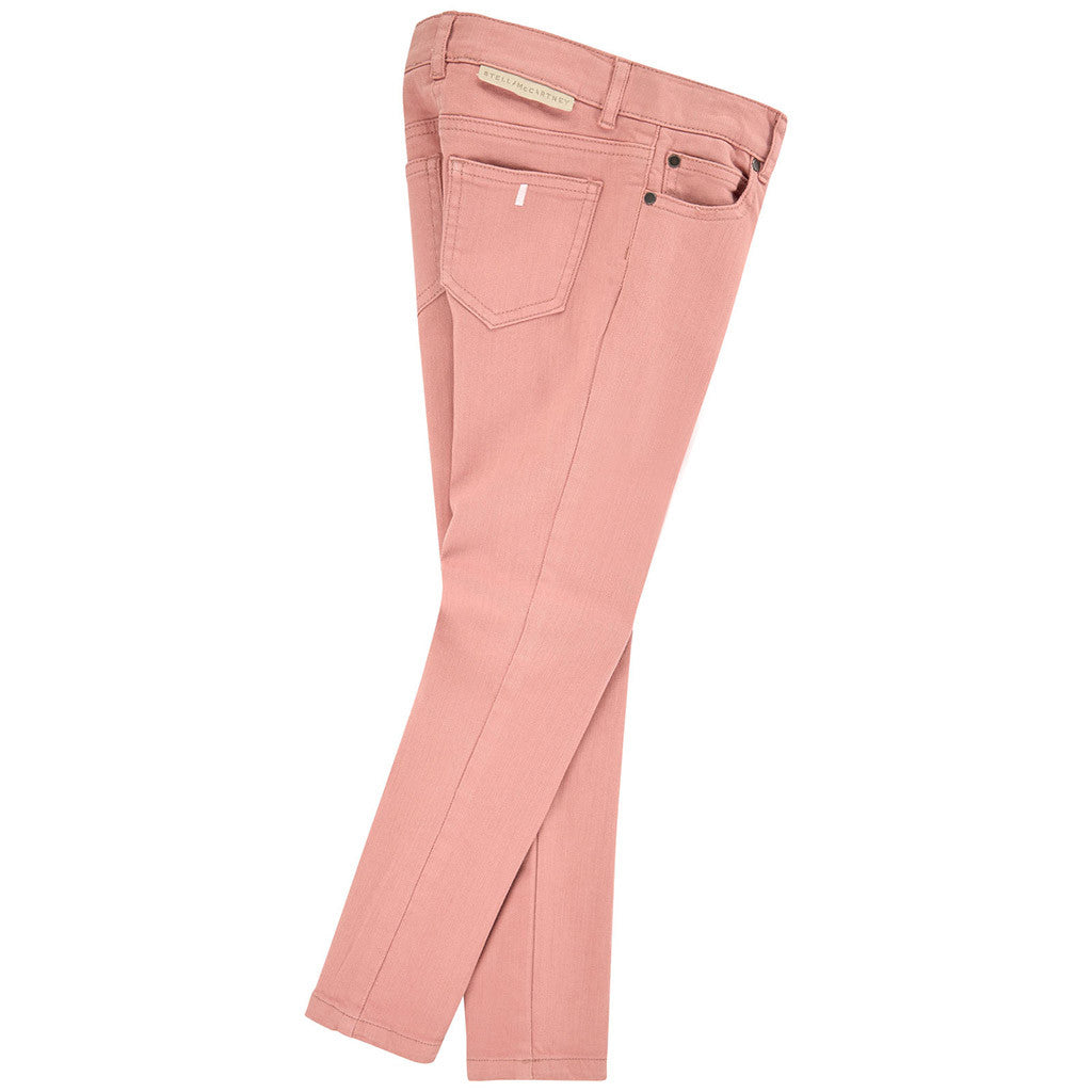 Nina Skinny Fit Denim Pants Pink