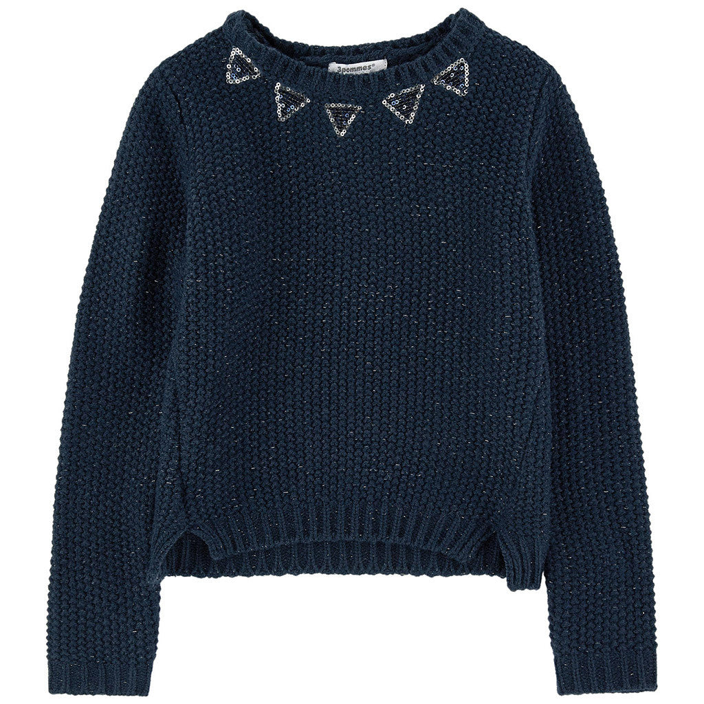 Pull Sweater Navy Blue