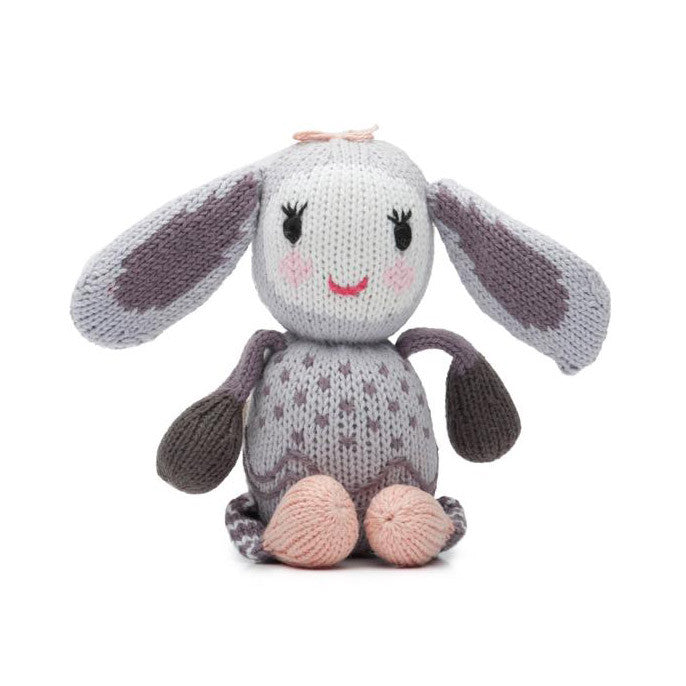 Belle the Bunny Rattle Buddy
