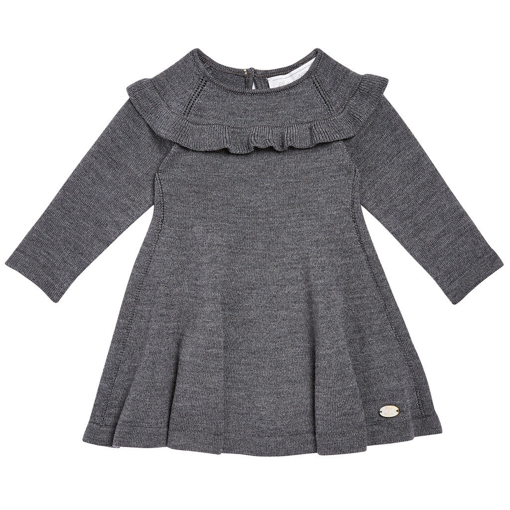 Robe Dress Dark Gray