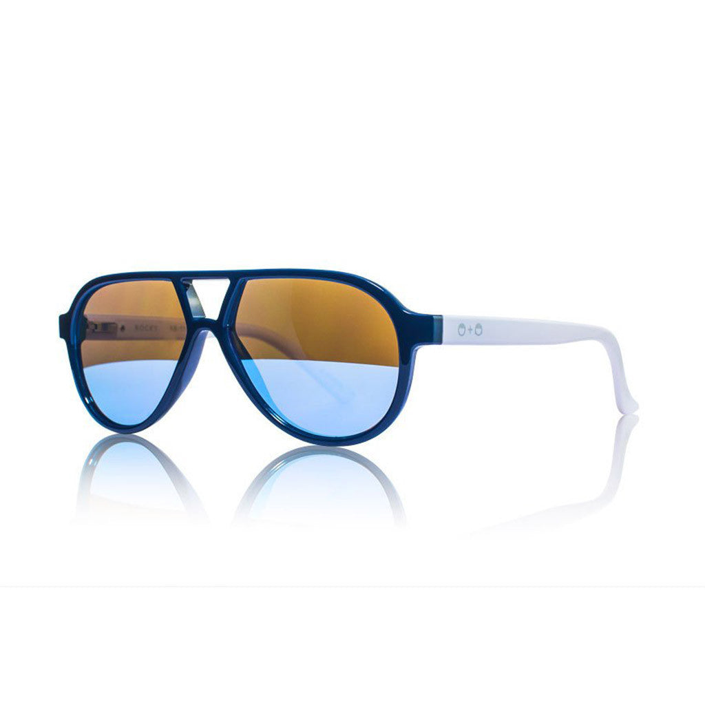 Rocky II Navy and White Sunglasses