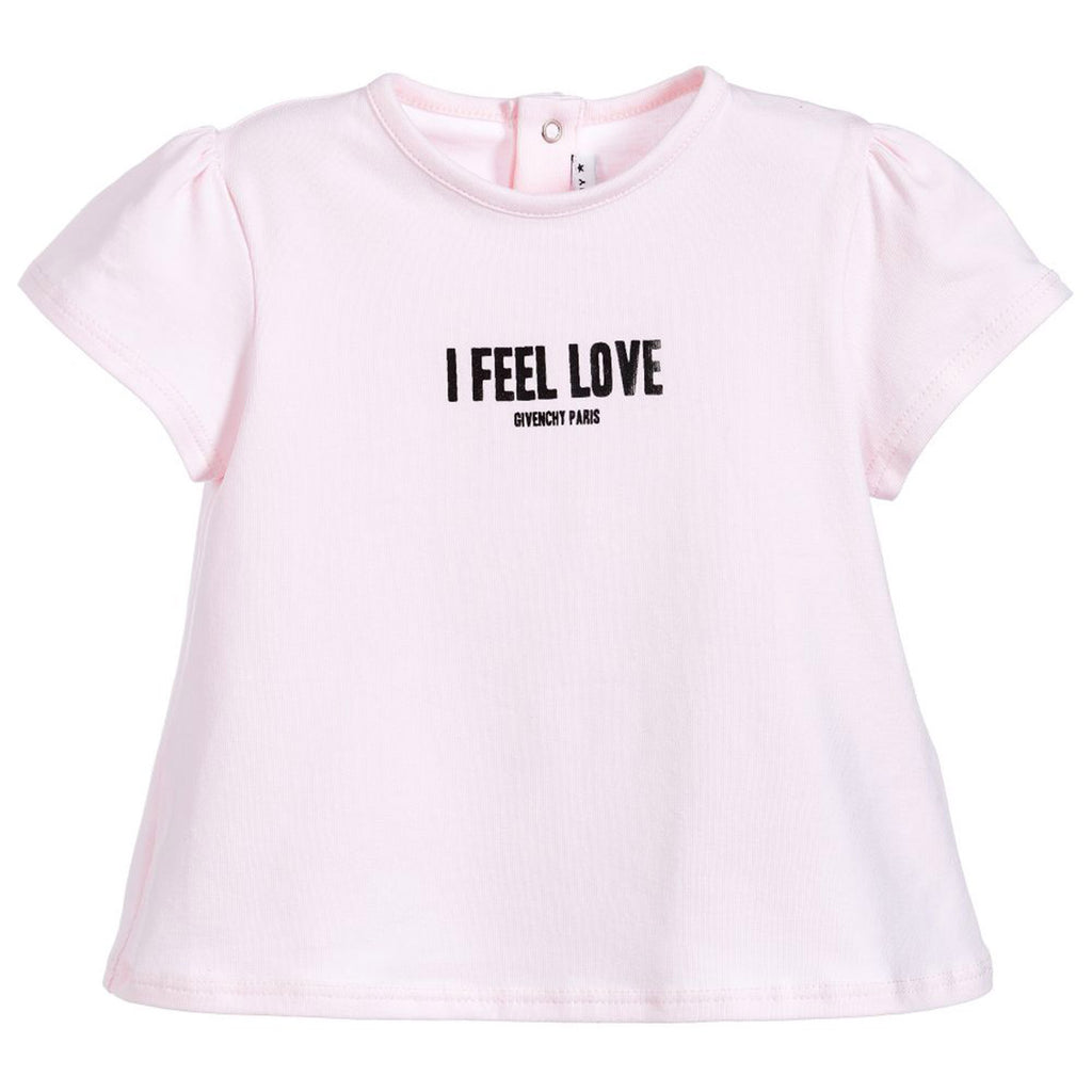 Baby Pink 'I Feel Love' T-Shirt