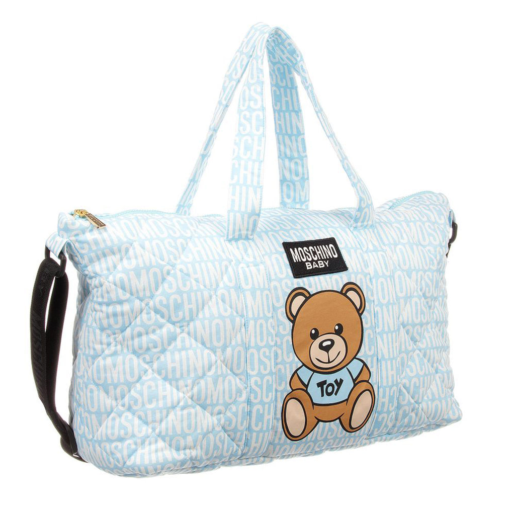 8669da9f80 Baby 'Bear' Diaper Bag- Blue – Occasion Kids