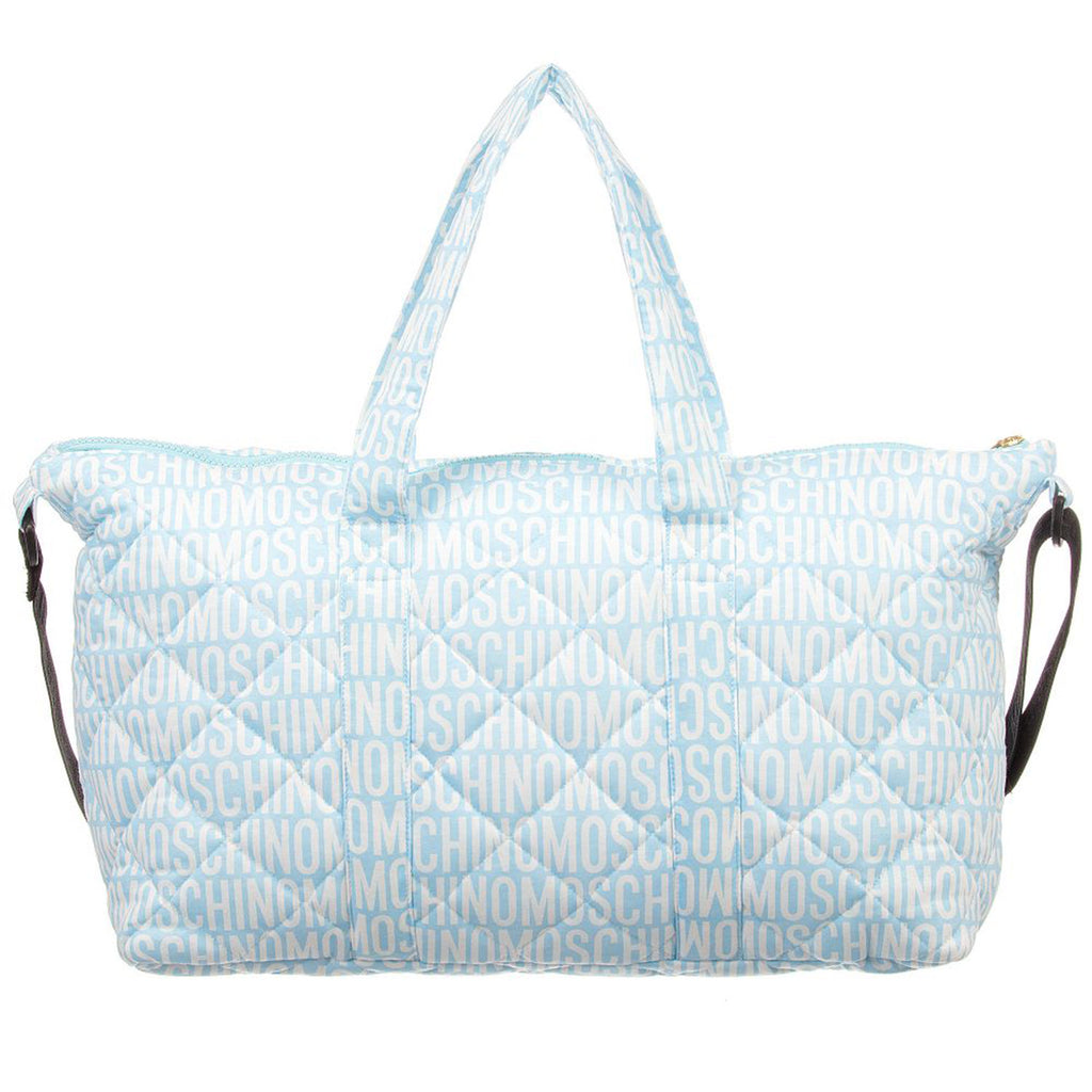 Baby 'Bear' Diaper Bag- Blue