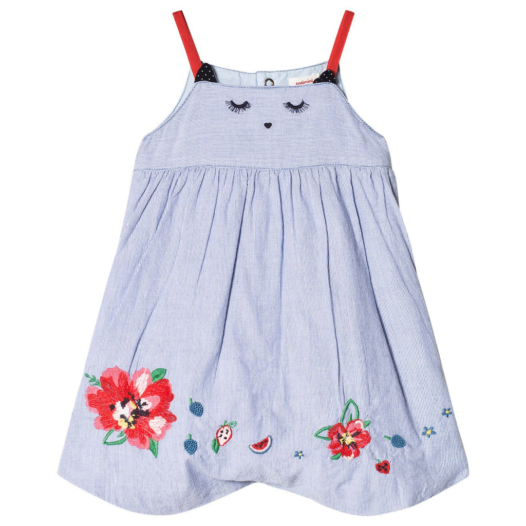 Baby Floral Embroidered Romper