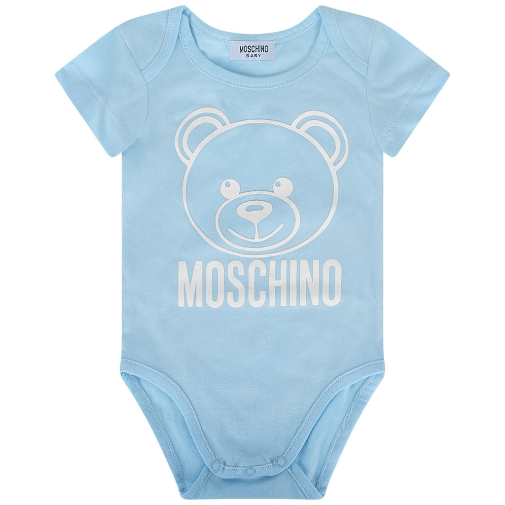 Baby 'Bear' Set of 2 Onesies Box Set-  Blue