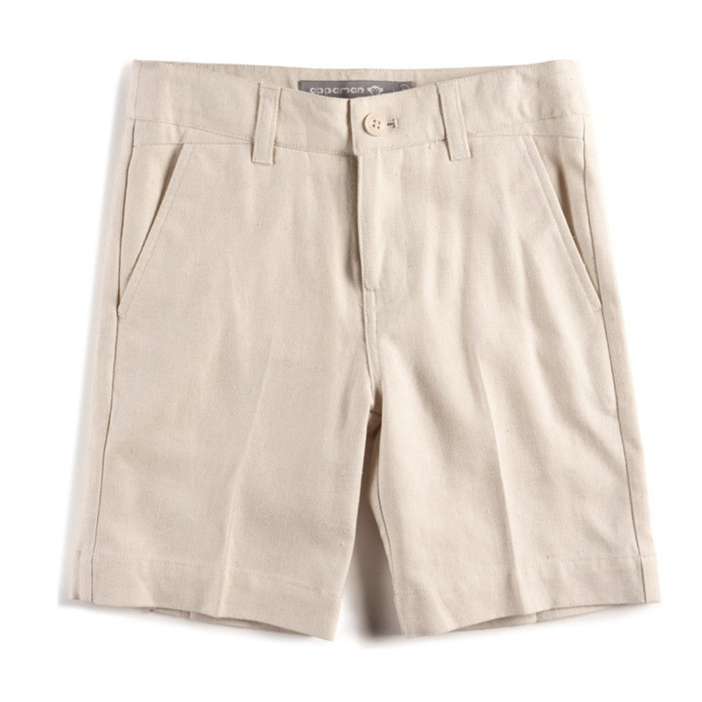 Short Suit Set Sand