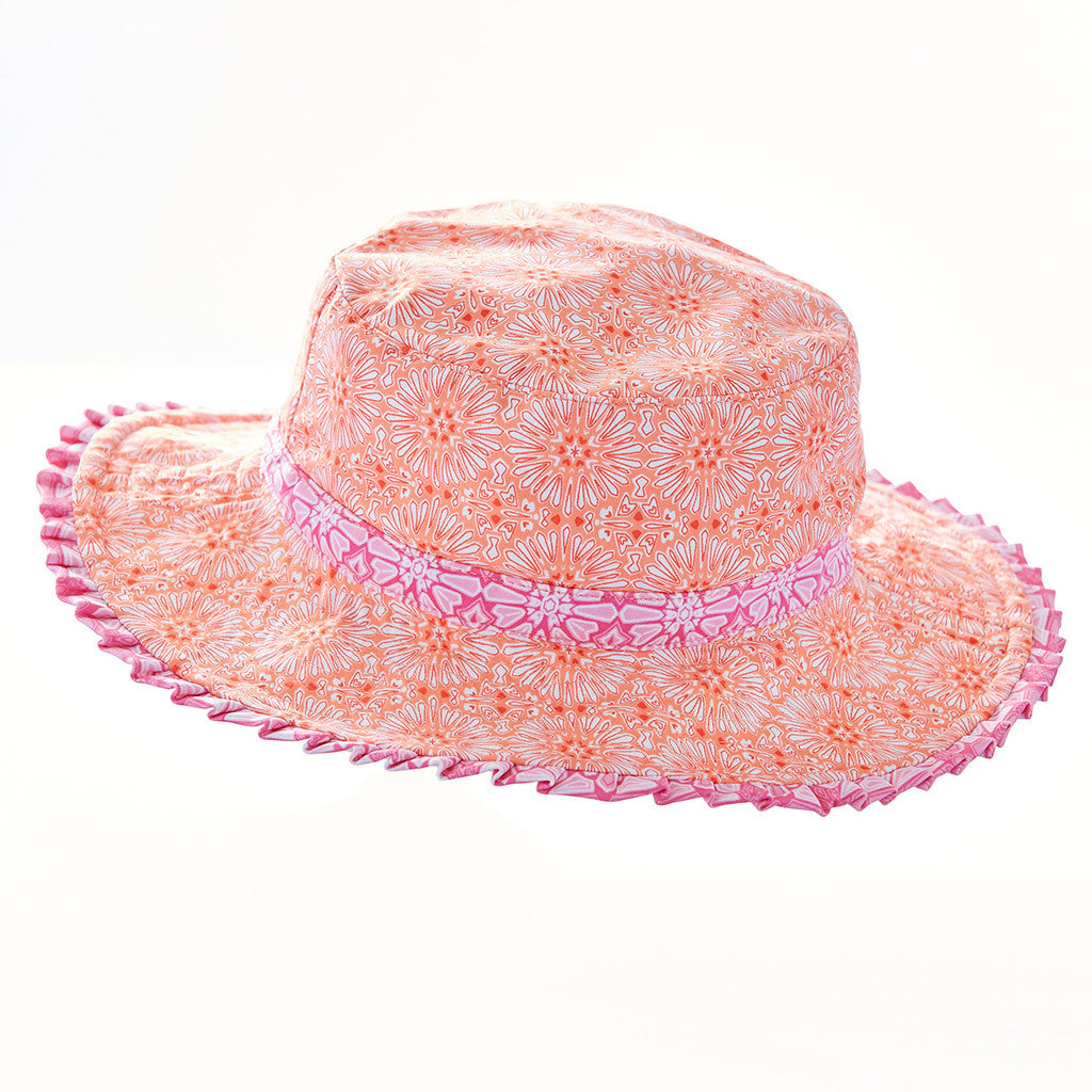 Spring Blooms Reversible Hat