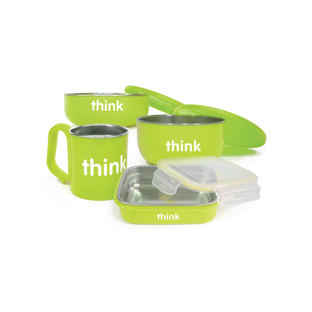 The Complete BPA Free Feeding Set Light Green