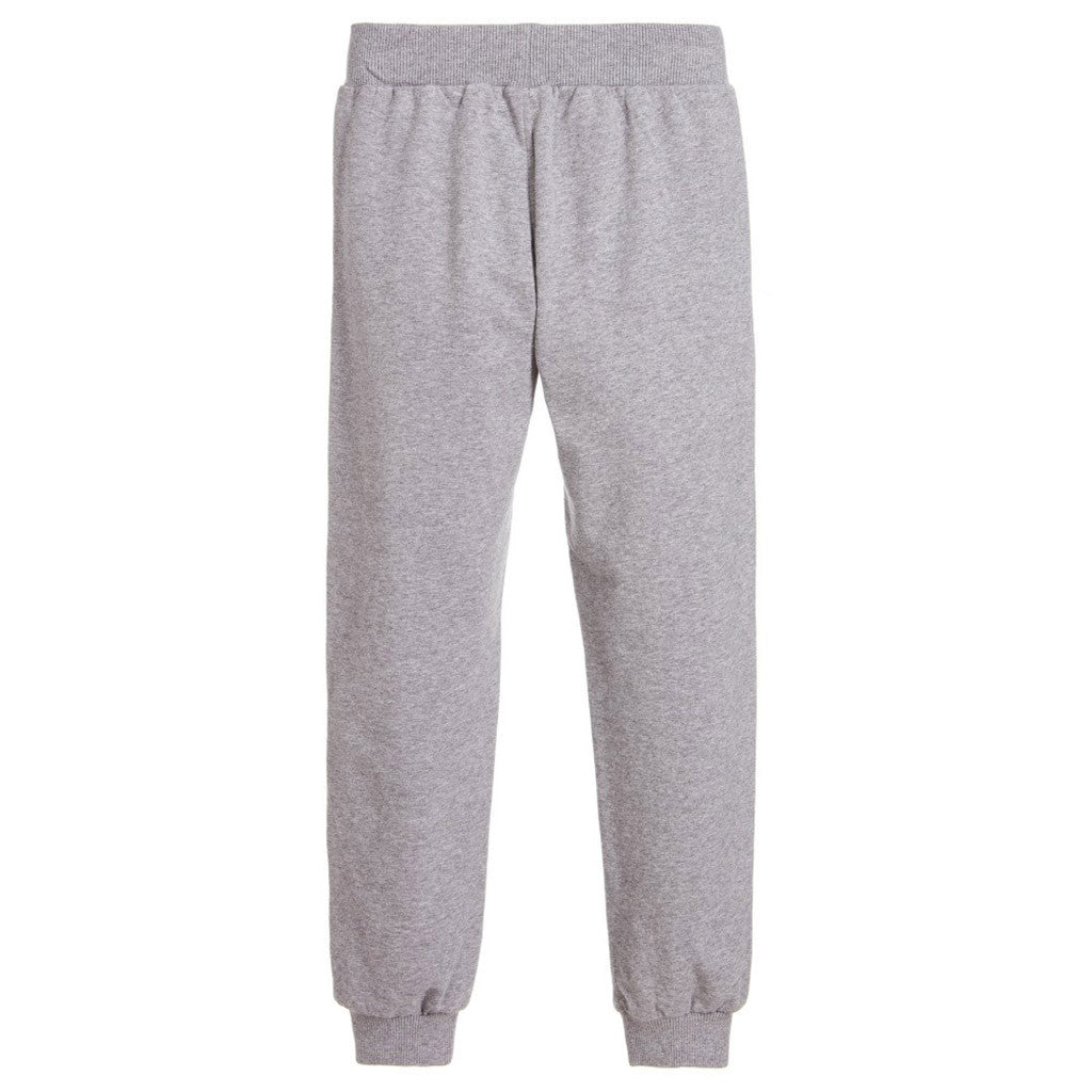 Track Pant w/ Teddy Bear Logo on Front Gray