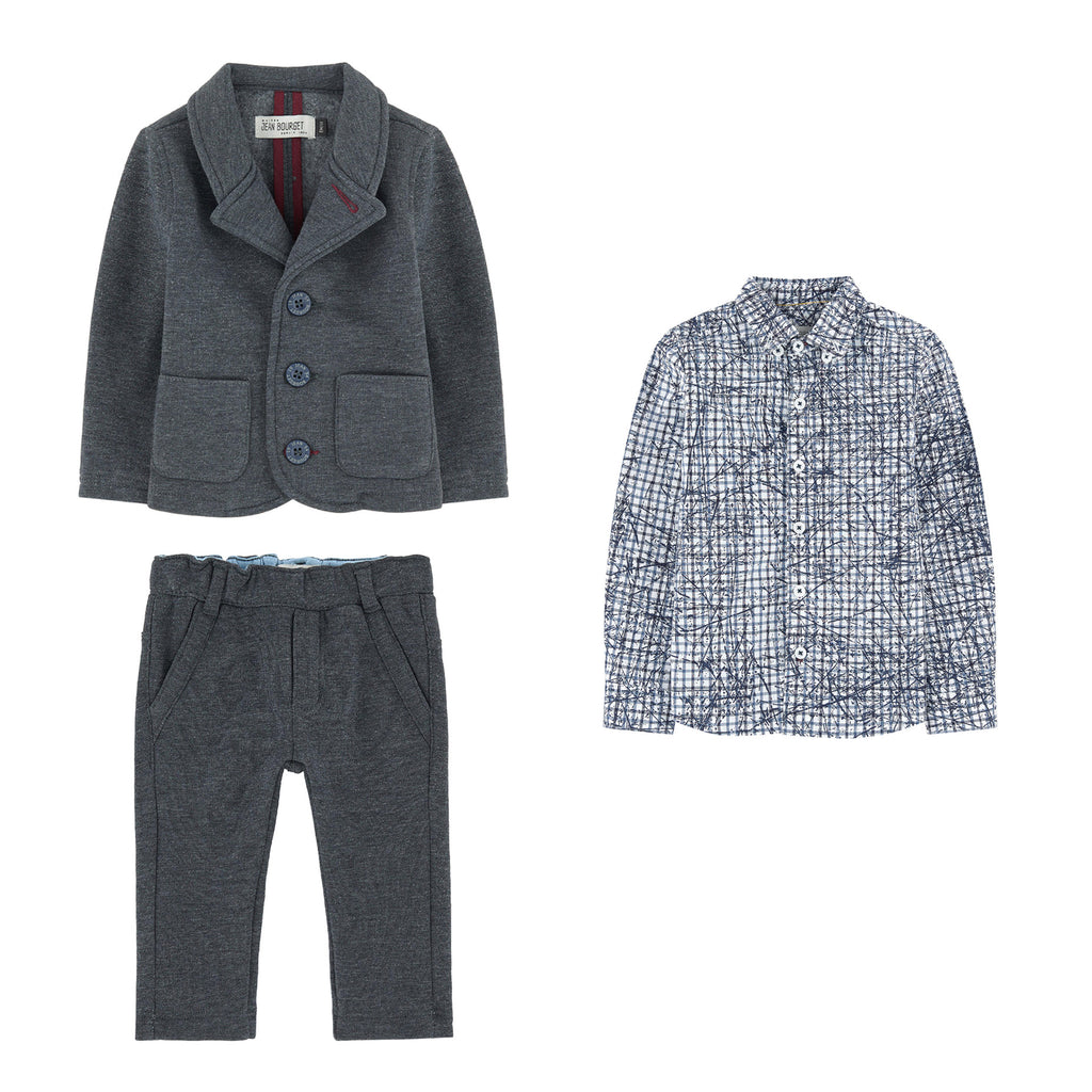 Baby Boys 3 Piece Suit Set