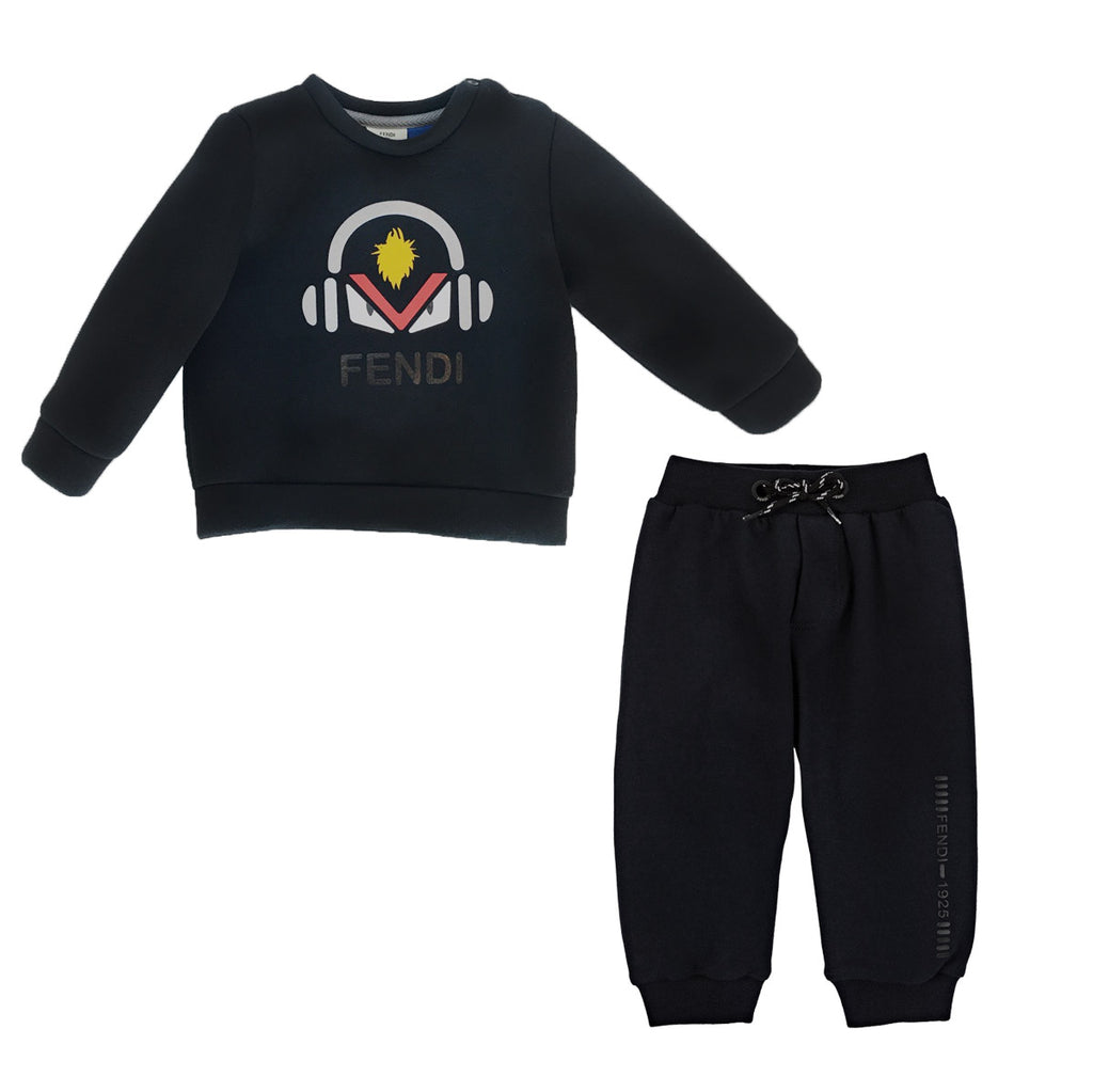 Baby Boys 'Monster' Neoprene Tracksuit