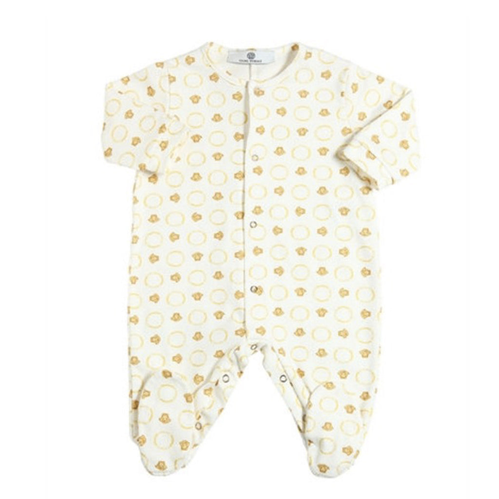 Baby All Over Medusa Print Footie