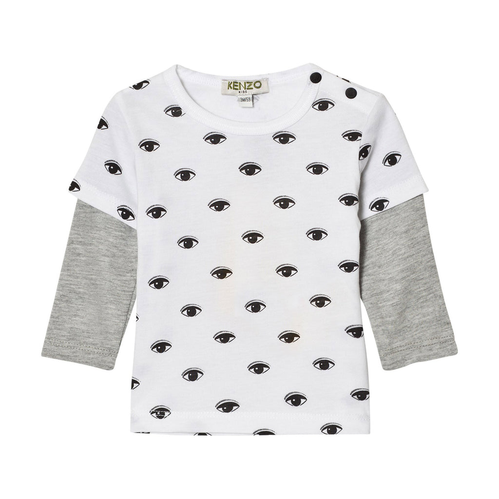 23fbd9f5548b ... T-Shirt; Baby Layered Long Sleeve with all over 'Eye' Print ...