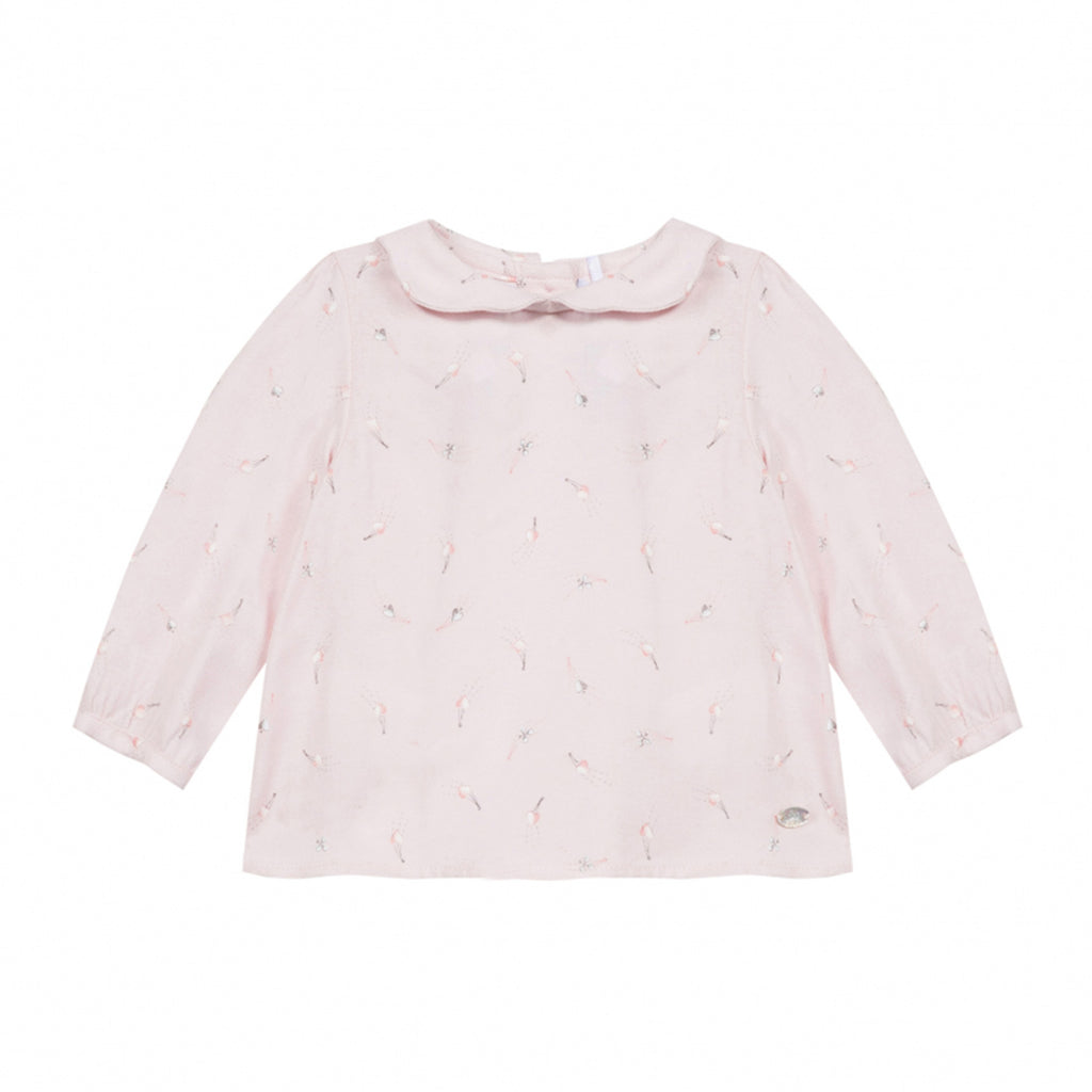 dce4b13443dab Baby Girls Pink Collared Blouse – Occasion Kids