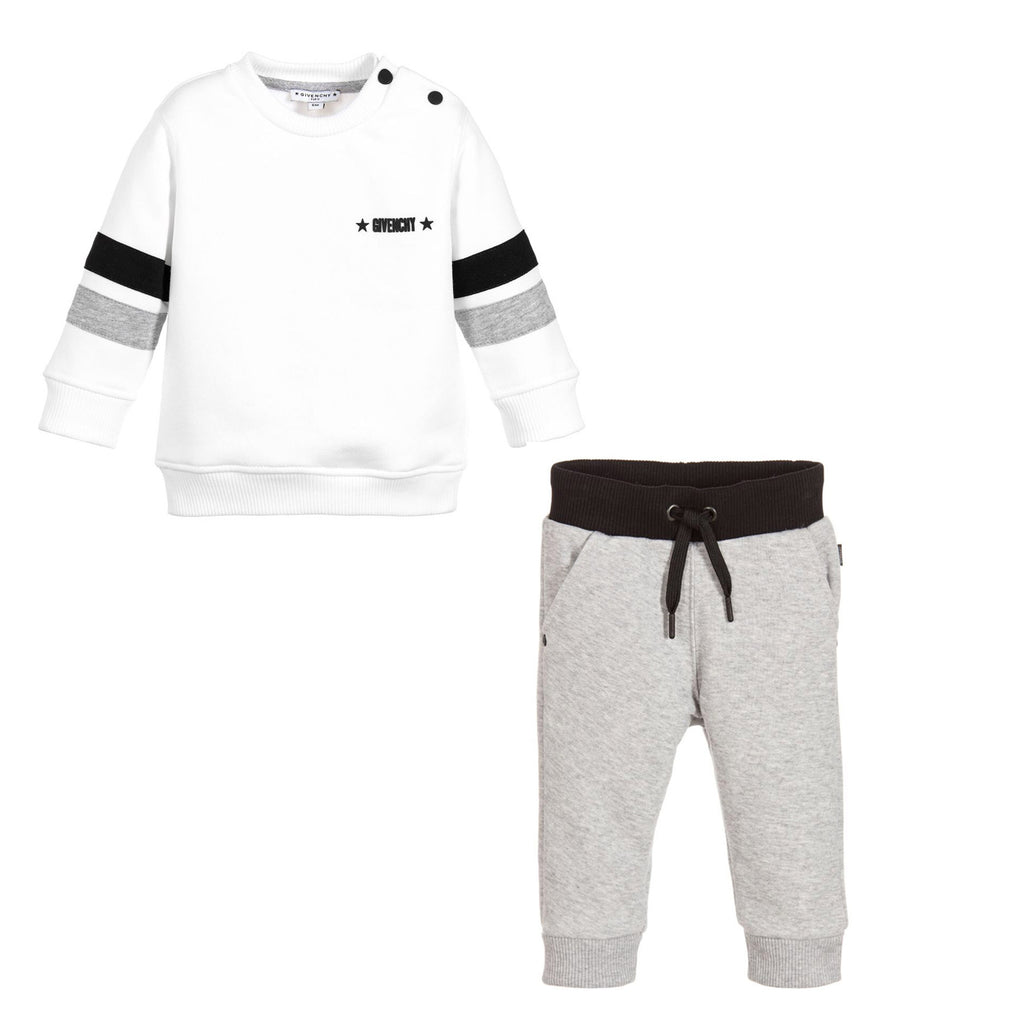 Baby Contrast Sweatshirt & Pants Set