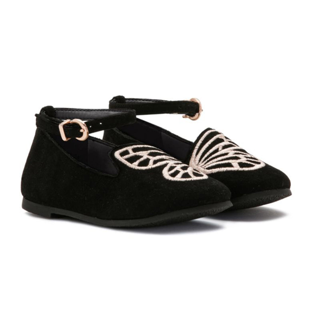 Bibi Butterfly Mini 'Black' Flats
