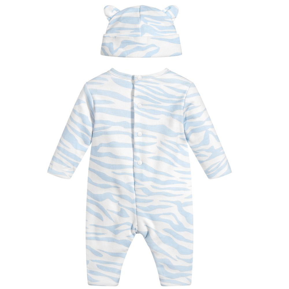 Baby 4 Piece Tiger Baby Set- Blue