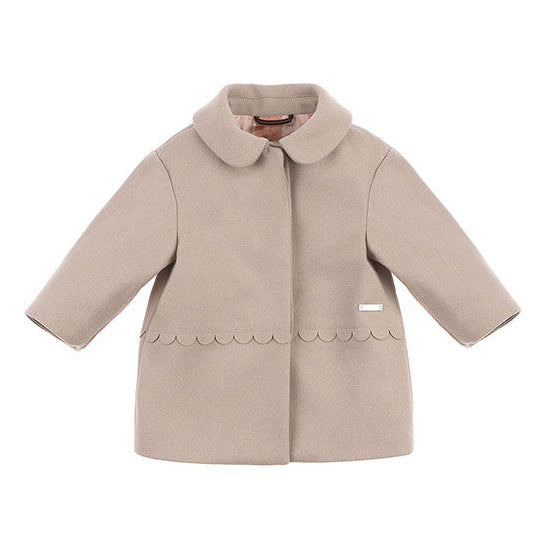 Baby Girl Collared Coat