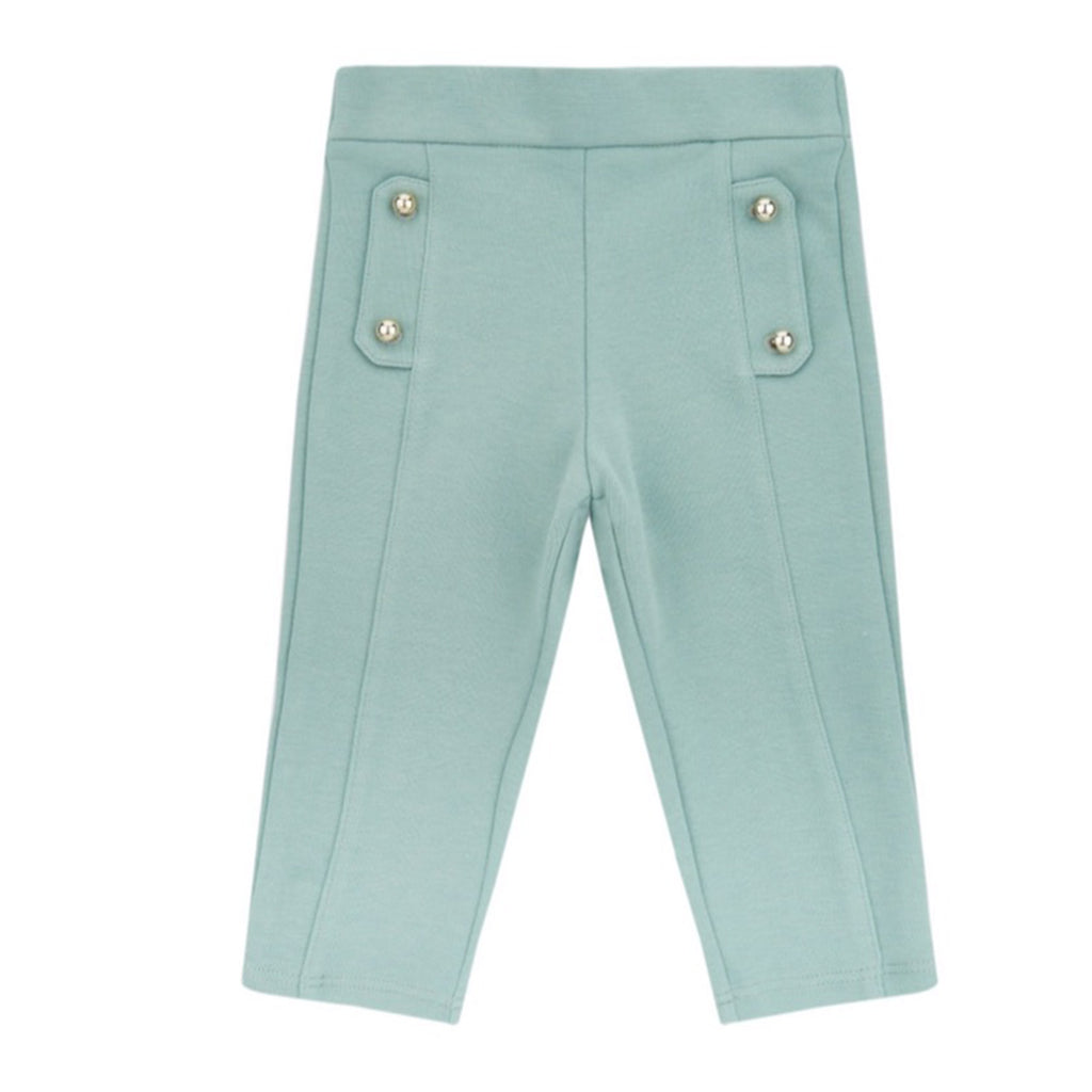 Baby Girls Green Milano Trousers