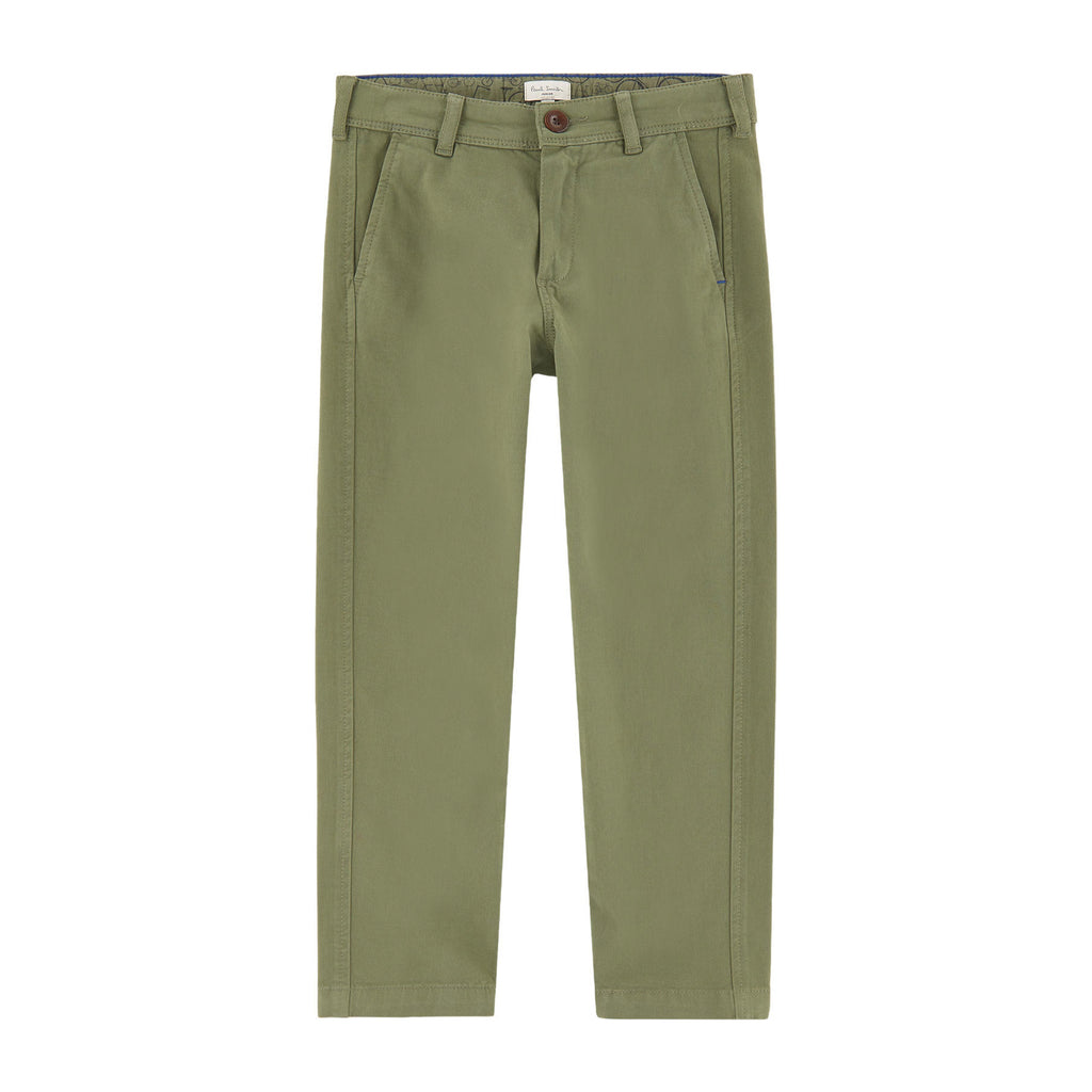 Baby Boy Green Trousers
