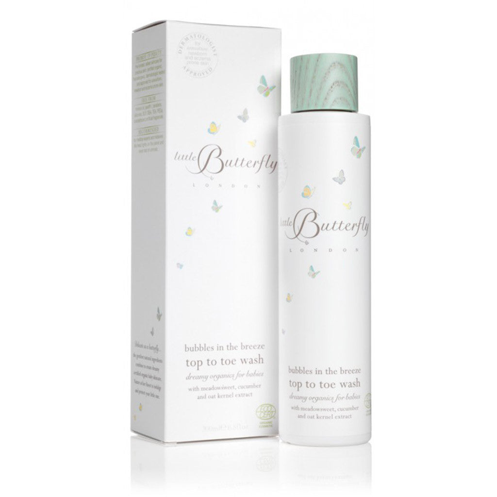 Bubbles in the Breeze - Top to Toe Wash 200ml