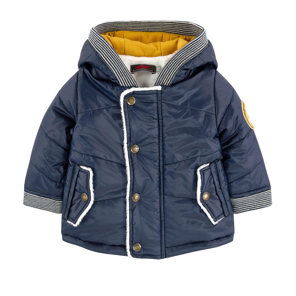 dc3522fd8 Baby Padded Coat with Faux Fur Lining – Occasion Kids