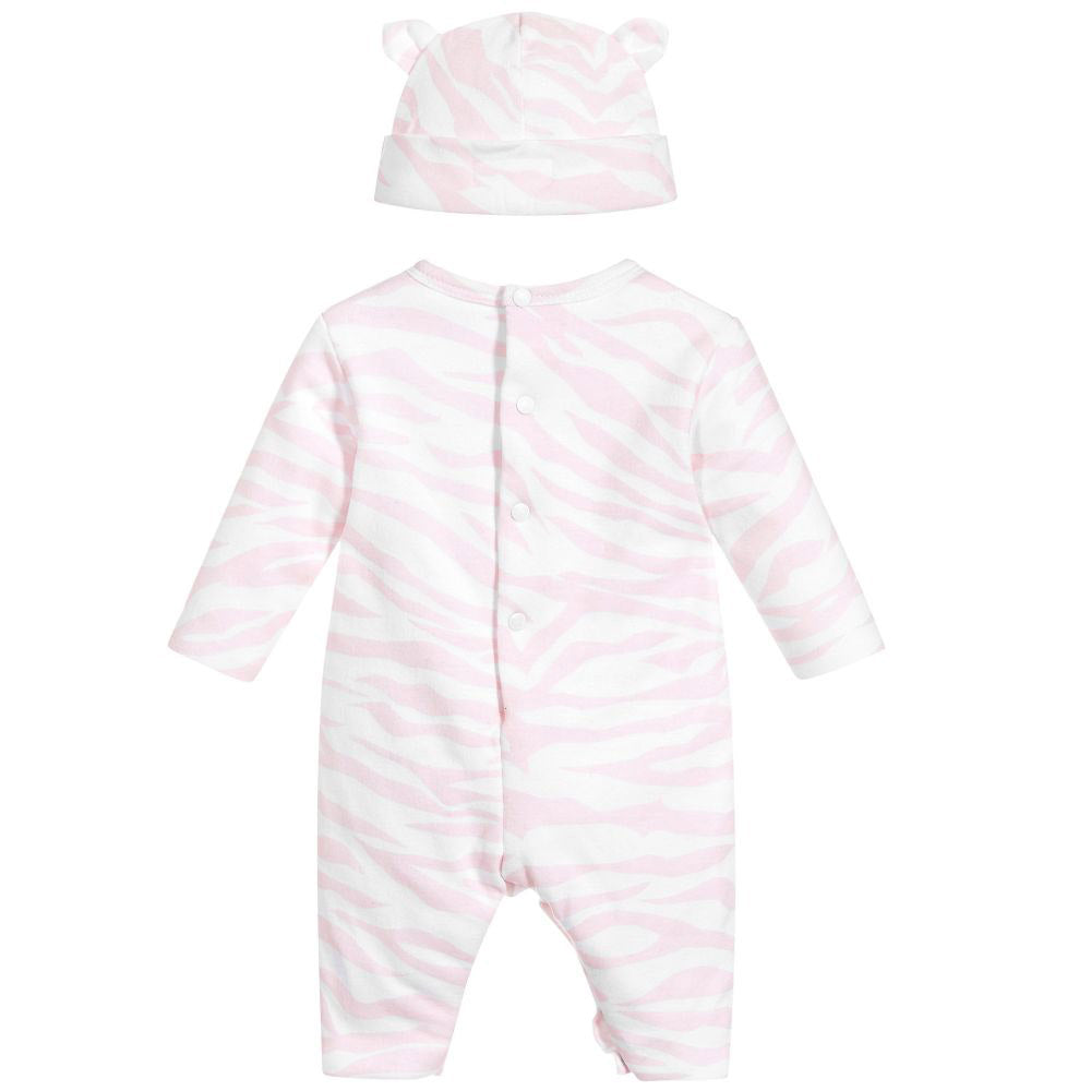 Baby 4 Piece Tiger Baby Set- Pink