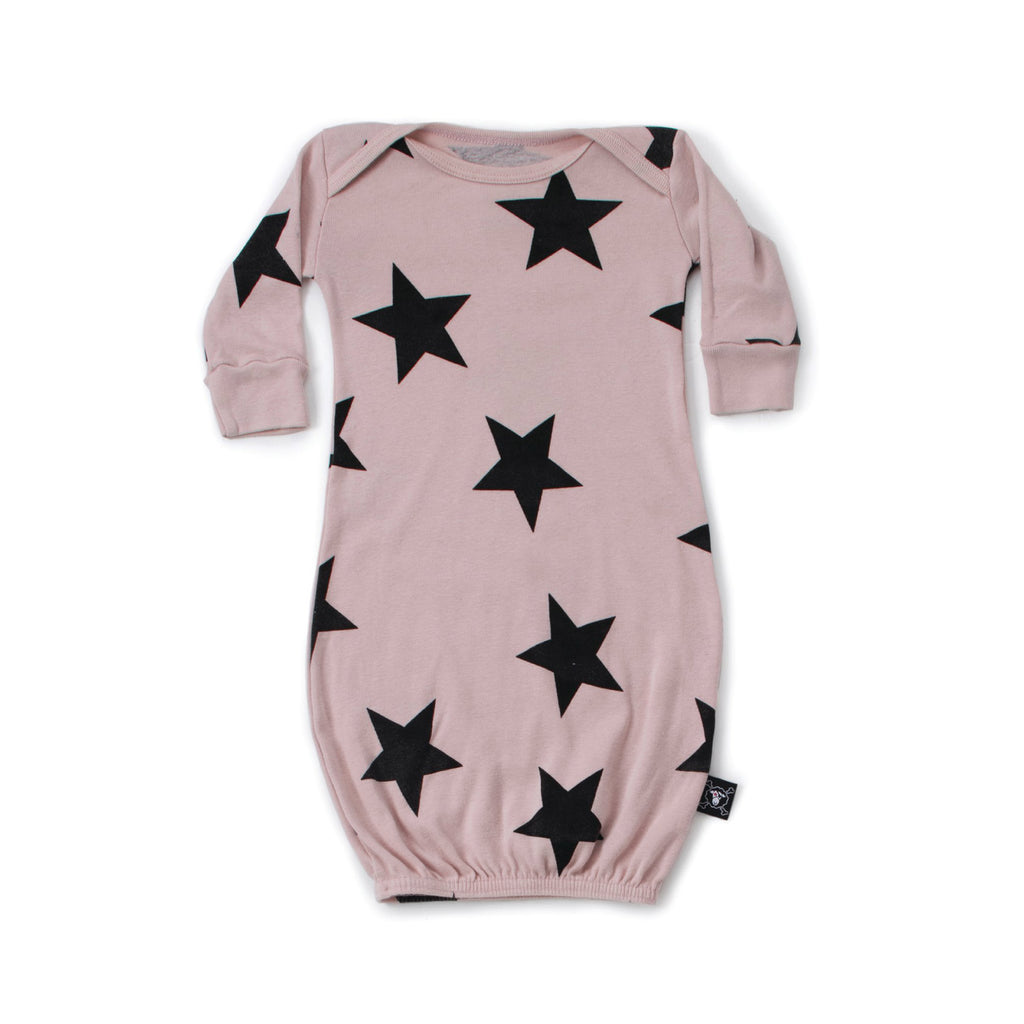 Baby Pink Star Sleep Gown