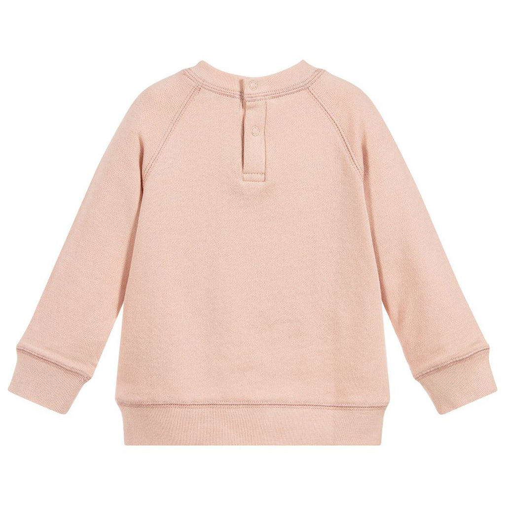 Baby Girls 'Betty' Seashell Heart Sweatshirto