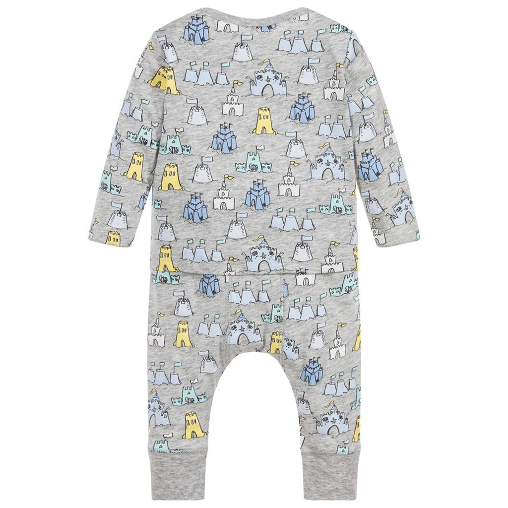 Baby 'Buster + Macy' Sandcastle printed Top & Legging Set
