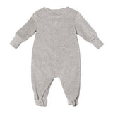 Baby Velour Cloud & Bear Footie with Gift Box