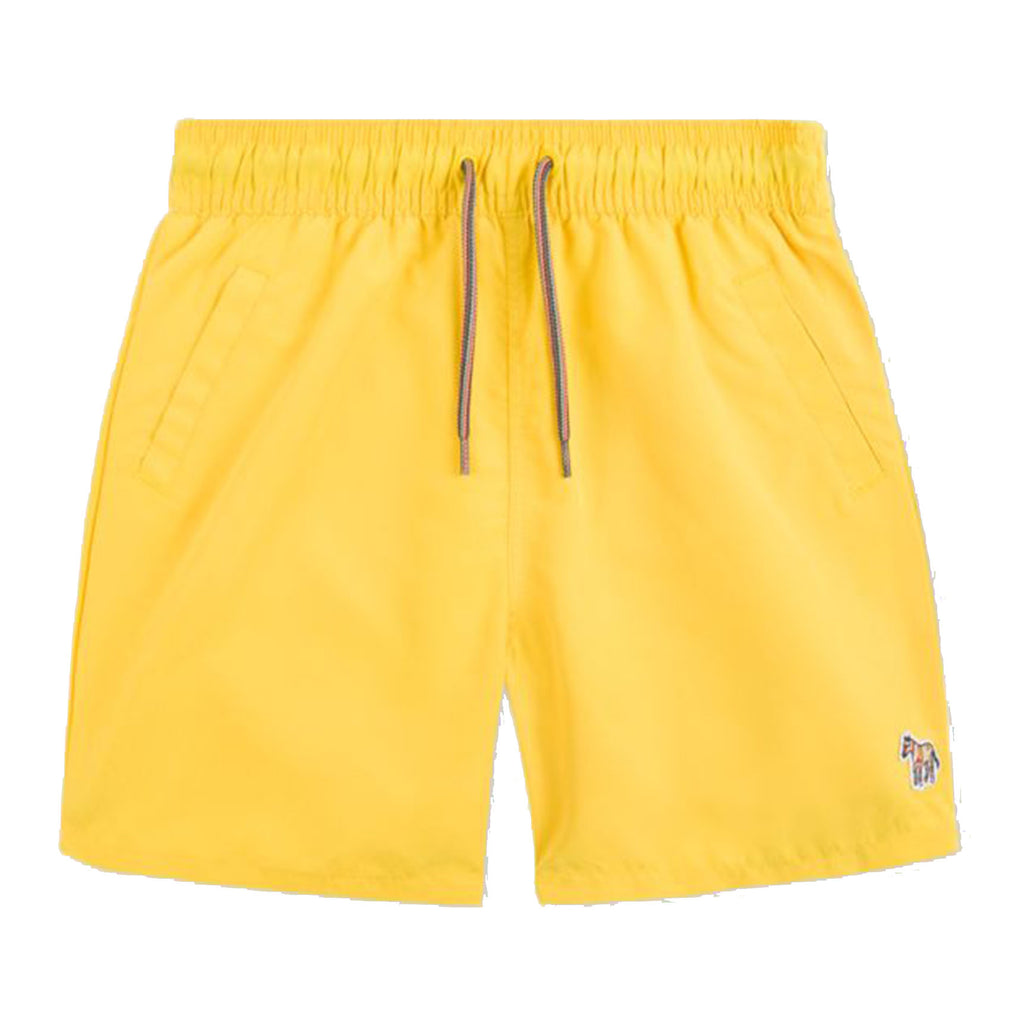 Boys Swim Trunks with Pouch-Yellow