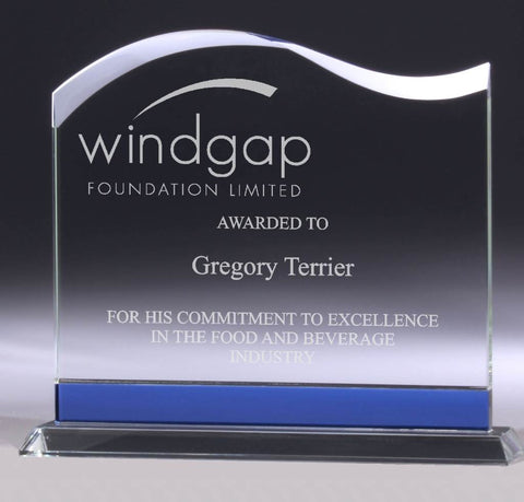 Wave - Glass Trophy