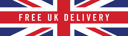 Union Jack UK Flag , text says free delivery