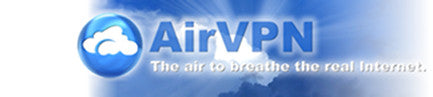 Air VPN website