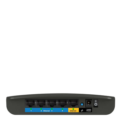 IPVanish VPN router dd-wrt router, VPN Router, Linksys N300 Flashed DD-WRT rear view