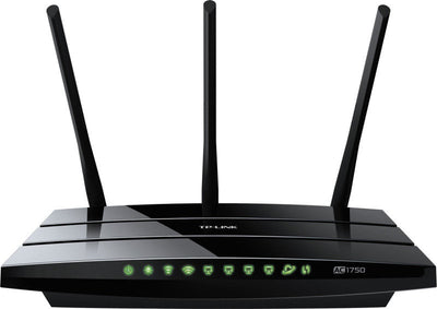 small business vpn router image green lights