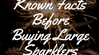 14 Must Known Facts Before Buying Large Sparklers
