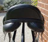 "SOLD.......17"" Kent & Masters S Series Surface Block Dressage Saddle"