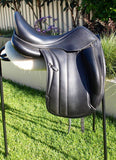 "SOLD........17.5"" Equipe Viktoria  +1 Dressage Saddle"