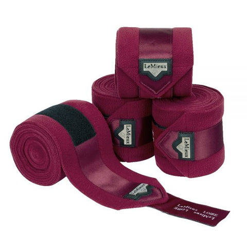 LOIRE POLO BANDAGES MULBERY