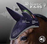Classic Acoustic Ear Bonnet BLACK/GREY M, L & XL
