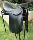 "ON TRIAL........17"" ANKY  SALINERO DRESSAGE SADDLE"