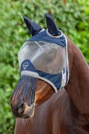 Armour Shield Fly Protector Defender Mask (Ears & Nose Fringe)