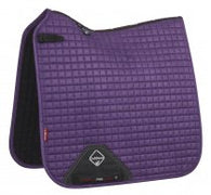 Luxury Suede Dressage Pad BLACKCURRANT M & L