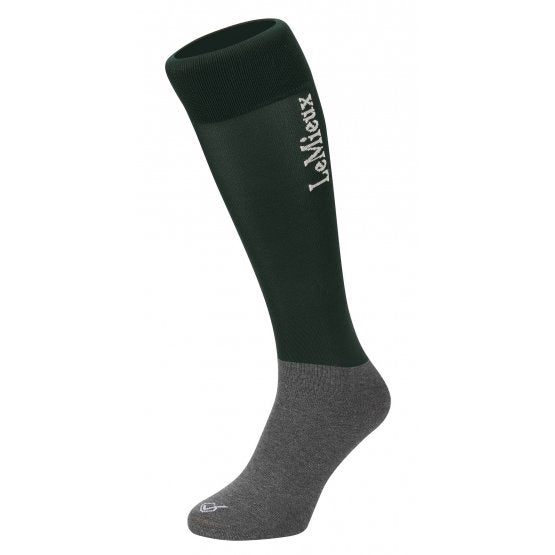LEMIEUX COMPETITION SOCK GREEN (TWIN PACK)