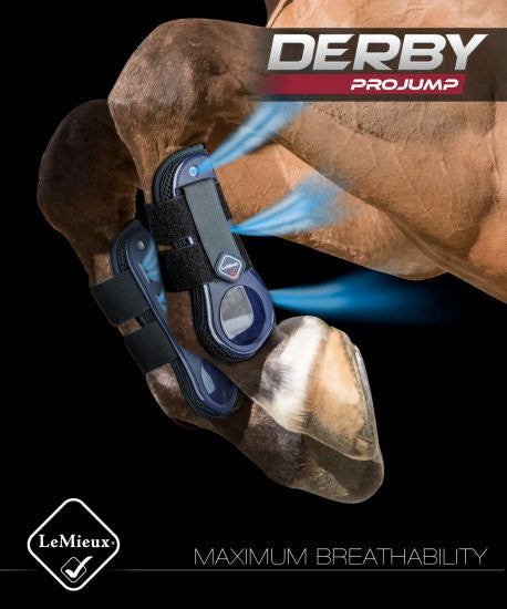 Lemieux Derby Projump Tendon Boot 1 X Brown large