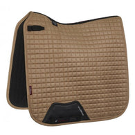 Luxury Suede Dressage Pad CHAMPAGNE M & L